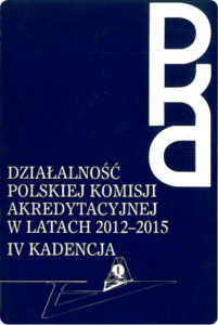 Działalność PKA wlatach 2012-2015.