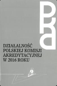 Sprawozdanie zdziałalności PKA w2016 r.