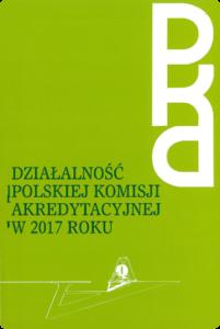Sprawozdanie zdziałalności PKA w2017 r.