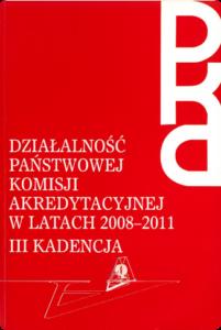 Sprawozdanie zdziałalności wlatach 2008-2011.