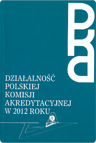 Report on the activity of PKA in 2012.