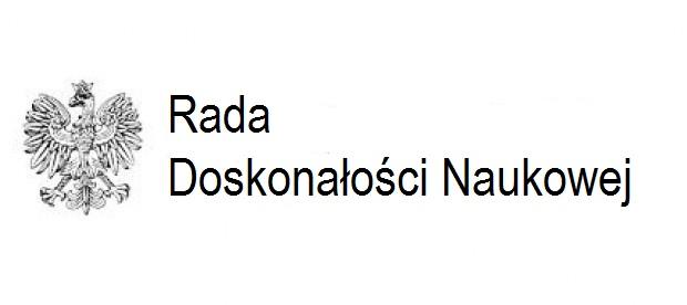 Logo Rady Doskonałości Naukowej